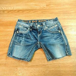 Rock Revival shorts cutoff 24